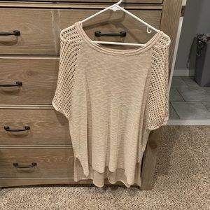 Forever 21 women's oversized knit top, size small